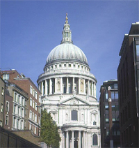 St Paul's in the sunshine